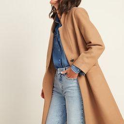 Oversized Soft-Brushed Overcoat for Women | Old Navy (US)