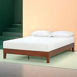 Zinus Wen 12 Inch Deluxe Wood Platform Bed Frame / Solid Wood / Mattress Foundation with Wood Sla...   Amazon (US)