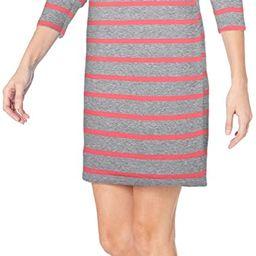 Amazon Essentials Women's Crewneck Long-Sleeve French Terry Fleece Above-the-Knee Dress   Amazon (US)