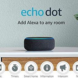 Echo Dot (3rd Gen) - Smart speaker with Alexa - Charcoal   Amazon (US)