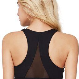 light & leaf Sports Bras for Women(XS-2X) Medium Impact Longline Yoga Workout Bra - Running Gym A... | Amazon (US)