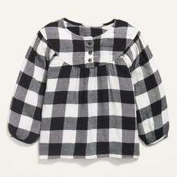 Printed Babydoll Tunic for Toddler Girls | Old Navy (US)