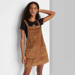 Women's Sleeveless Cord Pinafore - Wild Fable™ | Target