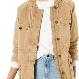 Amazon Brand - Goodthreads Women's Hooded Cargo Jacket | Amazon (US)