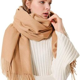 Eagool Thick Cashmere Scarf for Women Ladies Gift Idea Extremely Warm Super Soft Wool Wrap Shawl ... | Amazon (US)