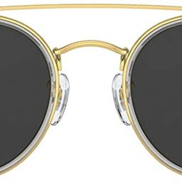 Ray-Ban Rb3647n Double Bridge Round Sunglasses | Amazon (US)