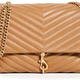 Rebecca Minkoff Women's Edie Flap Shoulder Bag | Amazon (US)