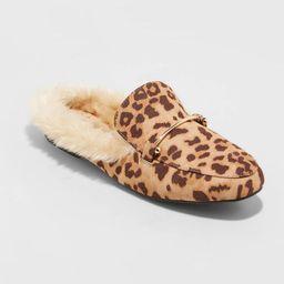 Women's Rebe Faux Fur Mules - A New Day™   Target