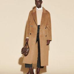 Long double-breasted coat | Sandro Paris (US)