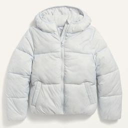 Wind-Resistant Frost-Free Puffer Jacket for Girls | Old Navy (US)