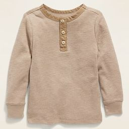 Long-Sleeve Thermal Tee for Toddler Boys | Old Navy (US)