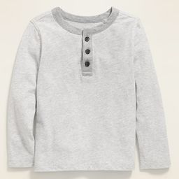 Long-Sleeve Henley for Toddler Boys | Old Navy (US)