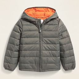 Hooded Lightweight Narrow-Channel Puffer Jacket for Toddler Boys | Old Navy (US)