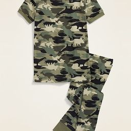 Camo-Dino Pajama Set for Toddler & Baby | Old Navy (US)
