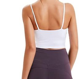 Lemedy Women Padded Sports Bra Fitness Workout Running Shirts Yoga Tank Top   Amazon (US)