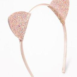 Glitter Cat's-Ear Headband for Girls | Old Navy (US)