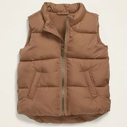 Frost-Free Quilted Puffer Vest for Toddler Boys | Old Navy (US)