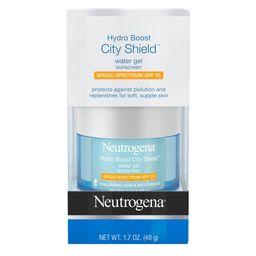 Neutrogena Hydro Boost City Shield Water Gel - SPF 25 - 1.7oz   Target