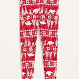 Thermal-Knit Plus-Size Pajama Leggings | Old Navy (US)