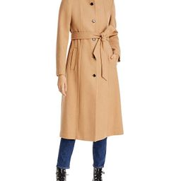 kate spade new york Belted Stand Collar Coat Back to Results -  Women - Bloomingdale's | Bloomingdale's (US)
