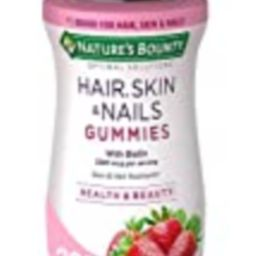 Nature's Bounty Vitamin Biotin Optimal Solutions Hair, Skin and Nails Gummies, 200 Count, (Pack of 1   Amazon (US)