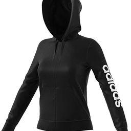 adidas Women's Essentials Linear Hoodie | Amazon (US)