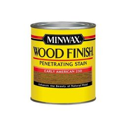 Minwax Wood Finish Oil-Based Stain Early American Oil-Based Interior Stain (Quart) | Lowe's