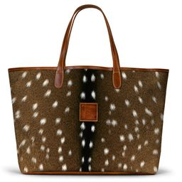 St. Anne Tote - Leather Patch - 160.00 | Barrington Gifts