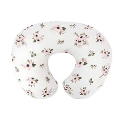 TILLYOU Large Zipper Nursing Pillow Cover, Luxury Egyptian Cotton Soft Feeding Pillow Slipcovers ...   Amazon (US)
