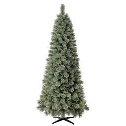 Holiday Time Non-Lit Branford Spruce Cashmere Green Artificial Christmas Tree, 7' | Walmart (US)