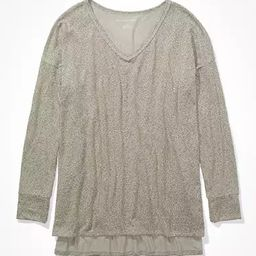 AE Soft & Sexy Plush V-Neck T-Shirt   American Eagle Outfitters (US & CA)