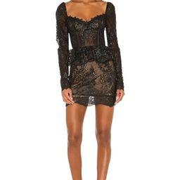V. Chapman Petunia Dress in Black from Revolve.com | Revolve Clothing (Global)