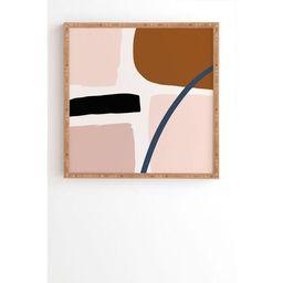 "30"" x 30"" Iveta Embrace Framed Wall Art - Deny Designs   Target"