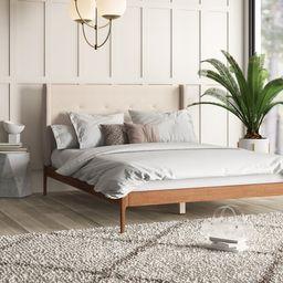 Ellerman Tufted Platform Bed | Wayfair North America