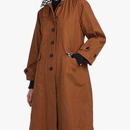 Barbour by ALEXACHUNG Glenda Jacket, Monks Robe/Check   John Lewis UK
