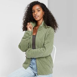 Women's Quilted Jacket - Wild Fable™ | Target
