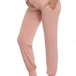AMPOSH Women's Maternity Pants Stretchy Lounge Workout Pants Casual Loose Comfy Pregnancy Joggers...   Amazon (US)