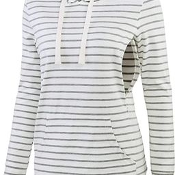 fitglam Women's Maternity Nursing Tops for Breastfeeding Side-Zip Hoodie with Pockets Long Sleeve...   Amazon (US)