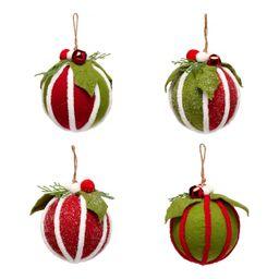 Holiday Time Felt Ornament Set, 4 Count   Walmart (US)