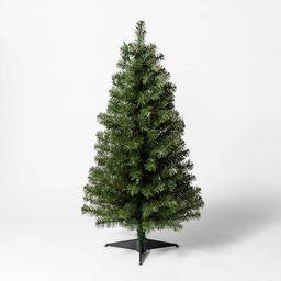 3ft Pre-Lit Alberta Spruce Multicolored Lights Artificial Christmas Tree - Wondershop™   Target
