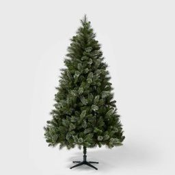 7.5ft Unlit Full Artificial Christmas Tree Virginia Pine - Wondershop™   Target