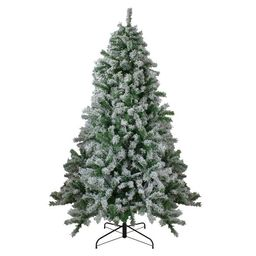 Northlight 6.5' Flocked Winter Park Fir Artificial Christmas Tree - Unlit   Target