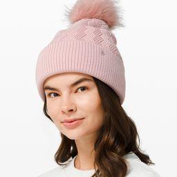 Sherpa Weave Pom Beanie   Women's Hats   lululemon   Lululemon (US)