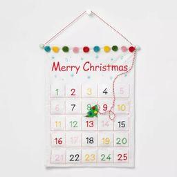 Merry Christmas Wall Hanging Advent Calendar - Wondershop™   Target
