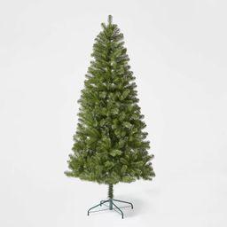 7ft Unlit Artificial Christmas Tree Alberta Spruce - Wondershop™   Target