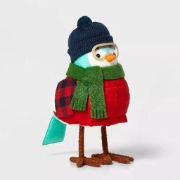 Decor Bird with Ski Goggles Decorative Figurine - Wondershop™ | Target