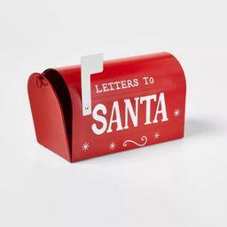 Metal Mailbox Decorative Figurine Red - Wondershop™ | Target