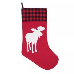 C&F Home Buffalo Check Lodge Deer Stocking | Target