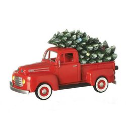 Pre-Lit Musical Truck and Tree Statue   Kirkland's Home