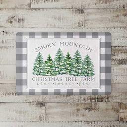 Smoky Mountain Christmas Indoor Floor Mat   Kirkland's Home